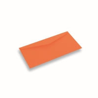 Farvet papir Konvolut DIN Long Orange