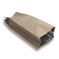 Side Gusset Bag 100 mm x 310 mm Brun