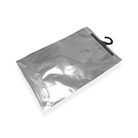 Hookbag 174 mm x 203 mm Transparent