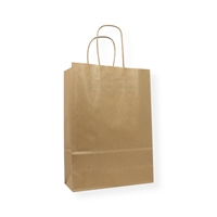 Paper Carrier bag 7.09 inch x 9.84 inch Brown