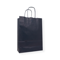 Paper Carrier bag 9.06 inch x 12.60 inch Blue