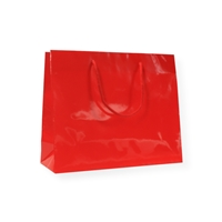 Glossy Bags 6.30 inch x 9.84 inch Red
