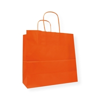 Awesome Bags 9.84 inch x 9.45 inch Orange