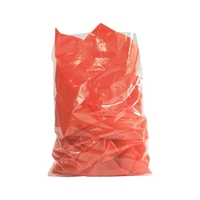 Baggie Carrier Bags 14.57 inch x 17.32 inch Transparent