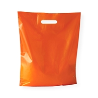 Sacs Plastique 380 mm x 440 mm Orange