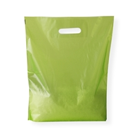 Baggie Carrier Bags 14.96 inch x 17.32 inch Green