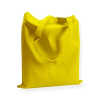 Cotton Carrier Bags 14.96 inch x 16.54 inch Yellow