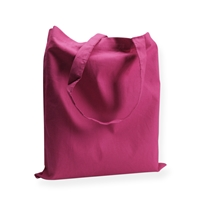 Cotton Carrier Bags 14.96 inch x 16.54 inch Pink