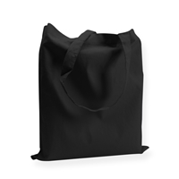 Cotton Carrier Bags 380 mm x 420 mm Black