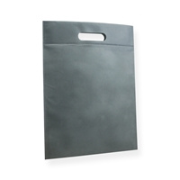 Non Woven Carrier Bags 11.81 inch x 15.75 inch Silver