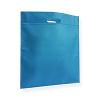 Non Woven Carrier Bags 400 mm x 450 mm Blue