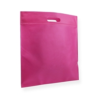 Non Woven Carrier Bags 15.75 inch x 17.72 inch Pink