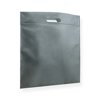 Non Woven Carrier Bags 15.75 inch x 17.72 inch Silver