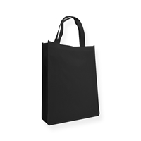 Non Woven Carrier Bags 310 mm x 410 mm Black