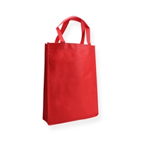 Non Woven Carrier Bags 12.20 inch x 16.14 inch Red