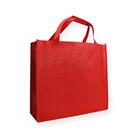 Non Woven Carrier Bags 15.75 inch x 13.78 inch Red