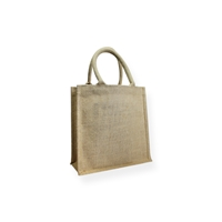 Juco Carrier Bag 10.24 inch x 10.24 inch Brown