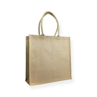 Juco Carrier Bag 16.14 inch x 16.14 inch Brown
