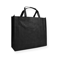 Non Woven Carrier Bags 15.75 inch x 13.78 inch Black