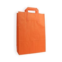 Sacs Plastique 120 mm x 260 mm Orange