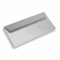 Coloured Paper Envelope Dinlong Silver