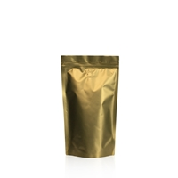 Lamizip Colour Stand Up Pouches 4.72 inch x 8.27 inch Gold