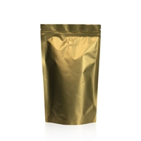 Lamizip Colour Stand Up Pouches 160 mm x 265 mm Gold