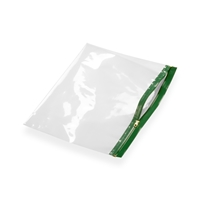 Re-closable wallets 320 mm x 230 mm Green