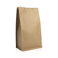 Box pouches 158 mm x 161 mm Marron