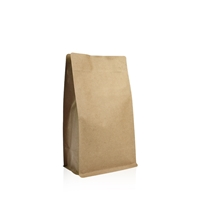 Box pouches 123 mm x 194 mm Brown