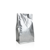 Box pouches 235 mm x 135 mm Silver