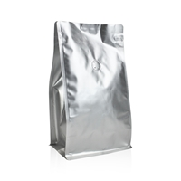 Box pouches 158 mm x 161 mm Silver