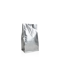 Box pouches 120 mm x 180 mm Silver