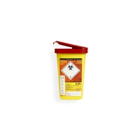 Daklapack-Safebox Needlecontainer MINI 0,25 ltr. Yellow