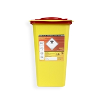 Daklapack-Safebox Needlecontainer Superior 3 ltr. Yellow