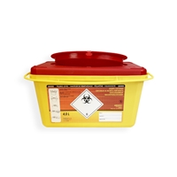 Daklapack-Safebox Needlecontainer Prime 4 ltr. Yellow