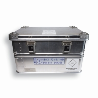 UN Transport Box 400 mm x 600 mm Silver