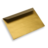 Colored Paper Envelope Gold