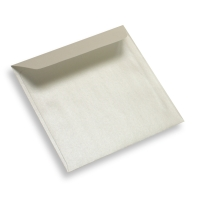 Coloured Paper Envelope Square Pearl White