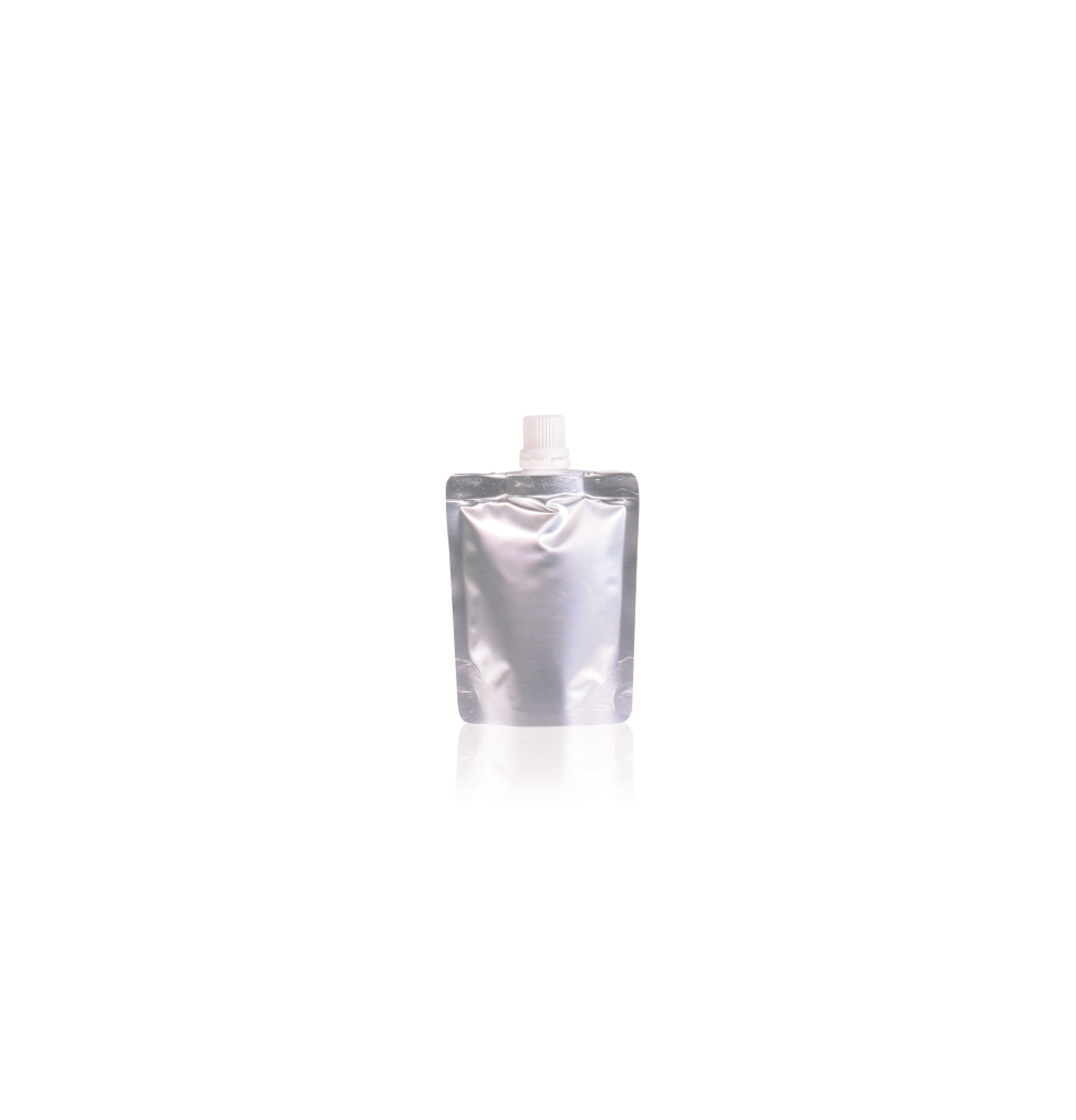 Spoutbag ø10.6mm (50ml) 80 mm x 100 mm Silver