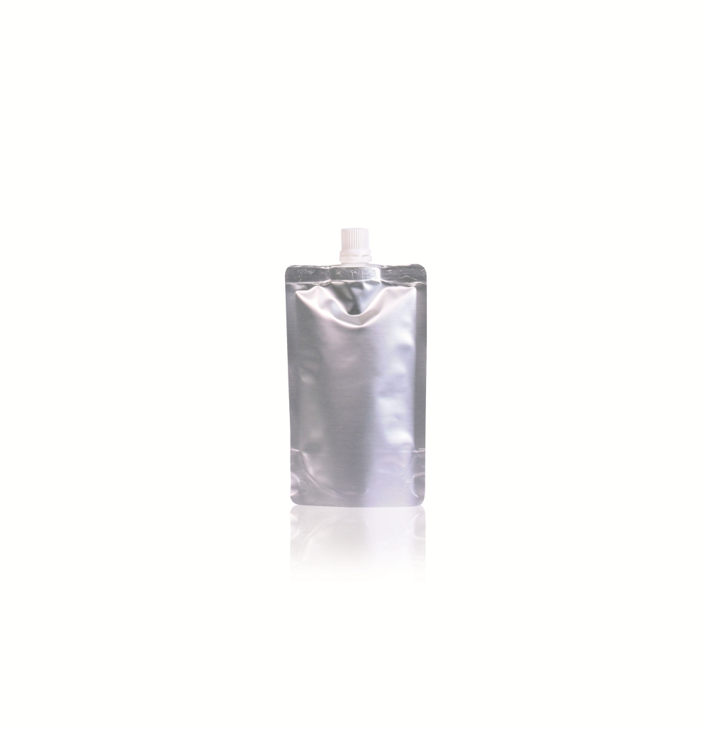 Spoutbag ø10mm (100ml) 90 mm x 145 mm Silver