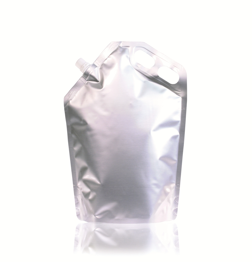 Spoutbag ø10 mm (2500ml) 220 mm x 310 mm Silver