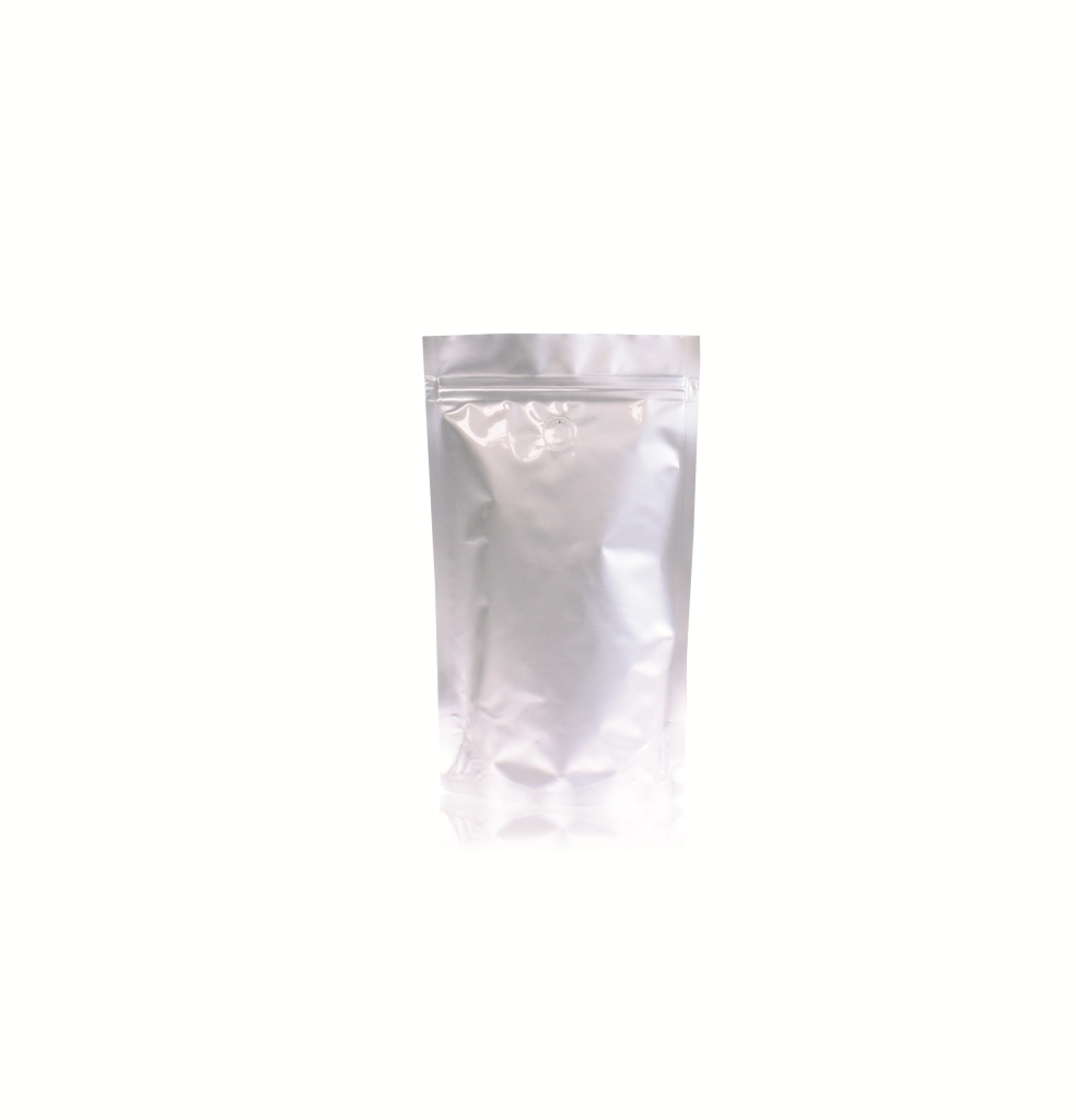 Lamizip Stand Up Pouches 5.67 inch x 8.94 inch Silver