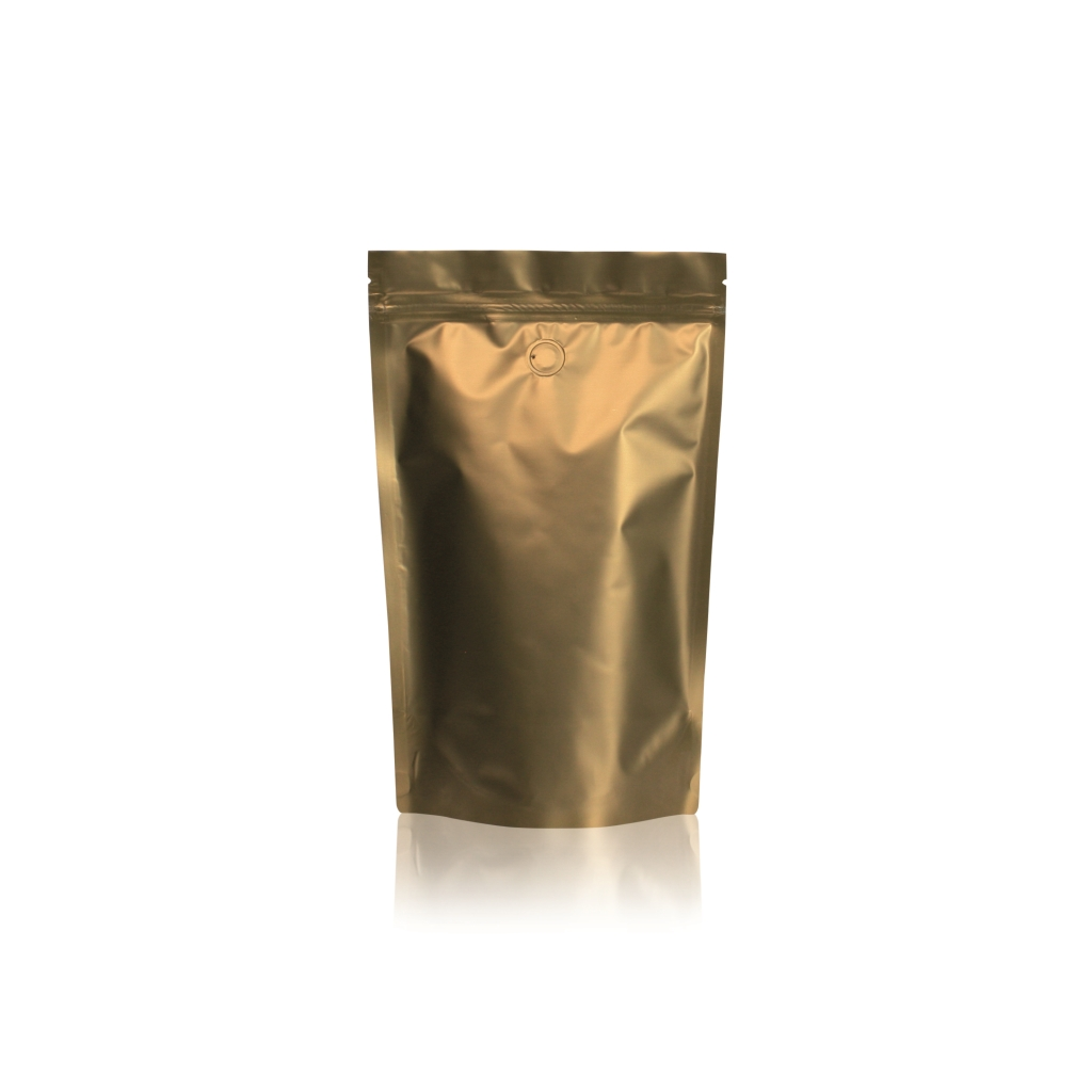 Lamizip Colour Stand Up Pouches 169 mm x 257 mm Gold