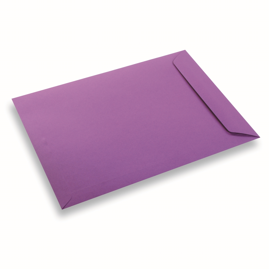 Coloured Paper Envelope A4+ Purple