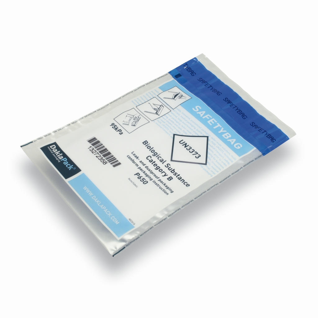 RigidSafetyBag Internationaler Bedruckung 165 mm x 285 mm Translucent