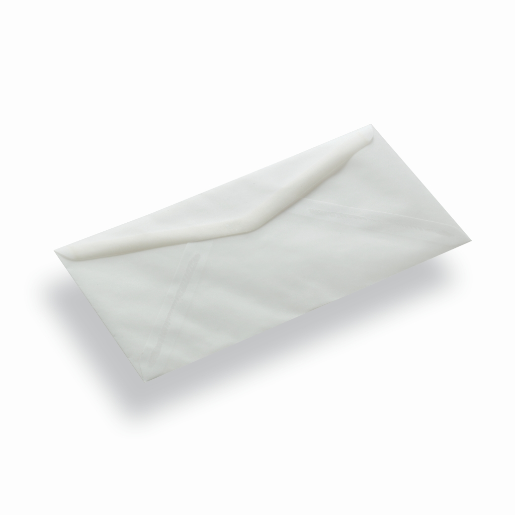 Transparent Paper Envelope Square Transparent