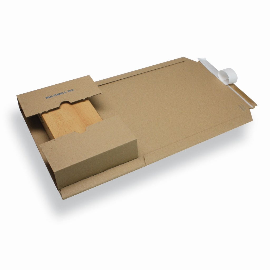 Variable Height Mailing Carton A5/ C5 Brown