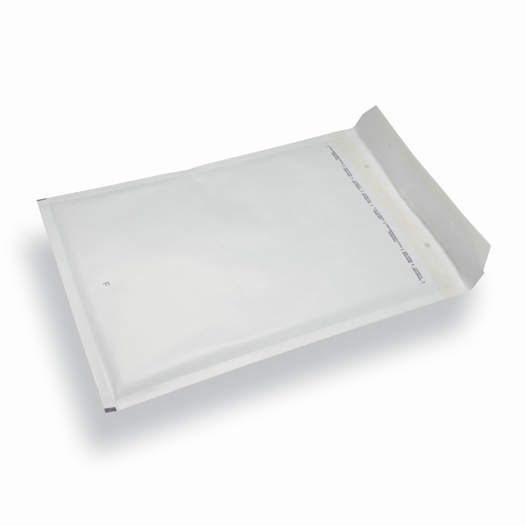 Paper Bubble Envelope 120 mm x 215 mm White