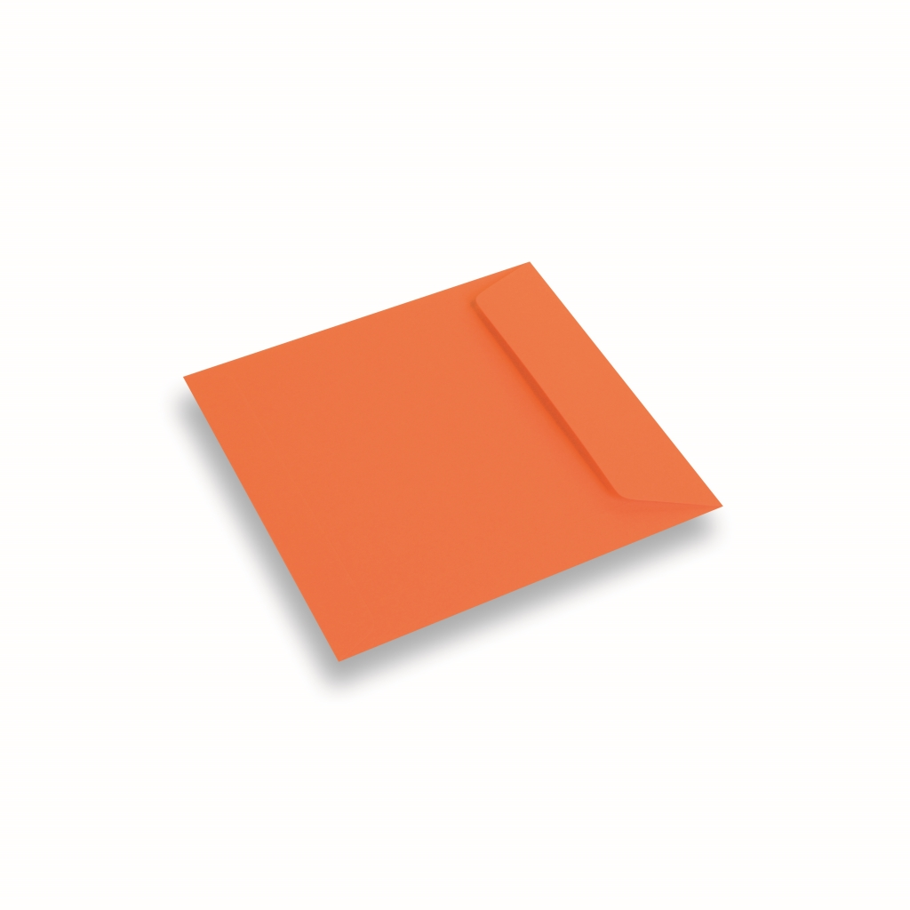 Coloured Paper Envelope Orange